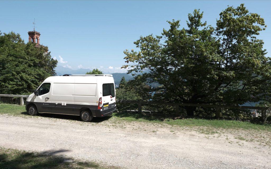 Off grid wonen camper