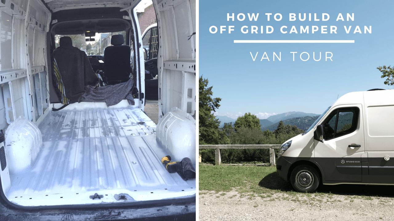 Wil je off grid bus bouwen? Wil je leven in een camper?